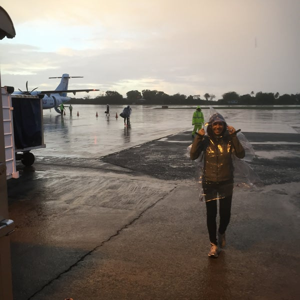 Photo taken at A.N.R. Robinson International Airport (TAB) by Lisa I. on 12/30/2016