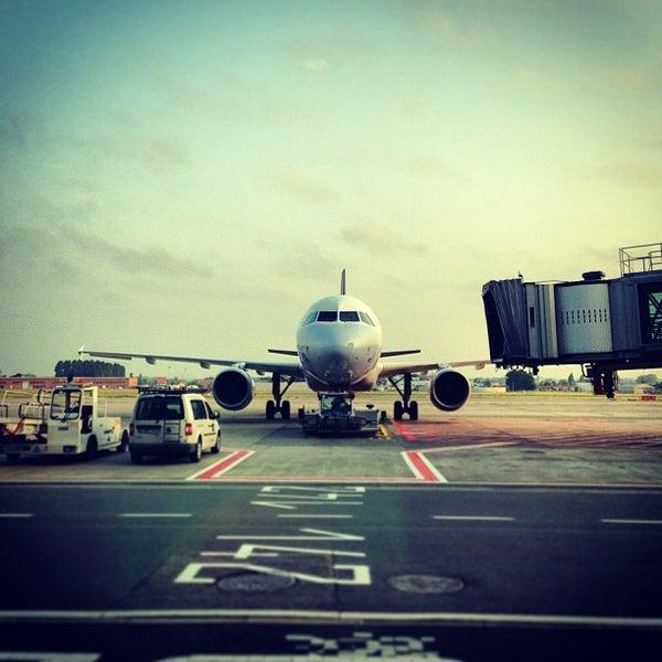 Снимок сделан в Брюссельский аэропорт (BRU) пользователем Kaysha 6/8/2013