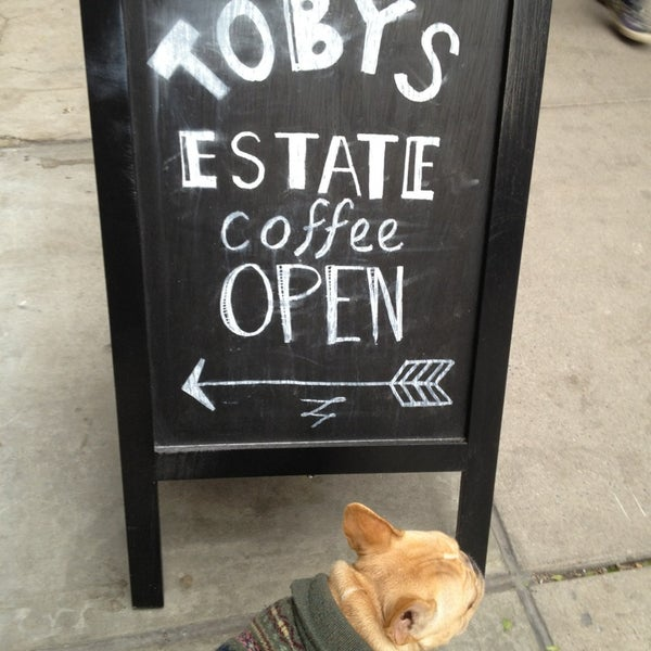 Foto scattata a Toby's Estate Coffee da Kirk P. il 11/10/2013