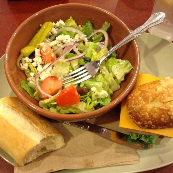 Photo taken at Panera Bread by Charity D. on 1/4/2013