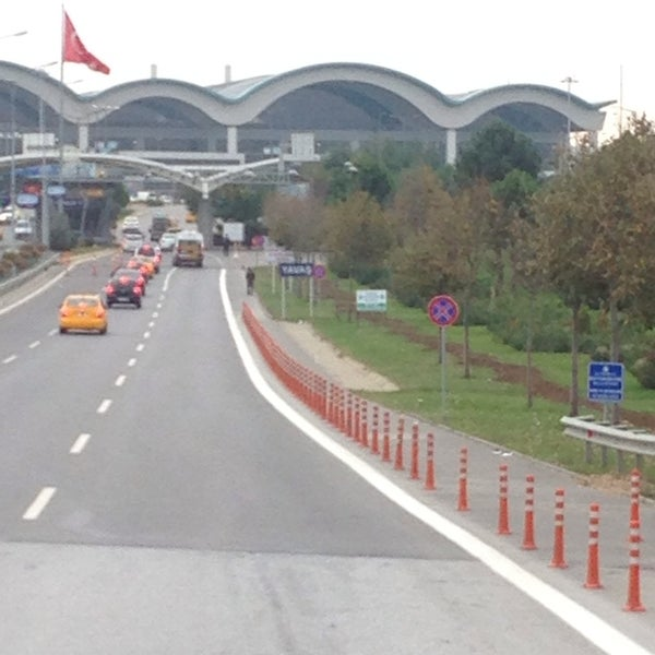 Photo taken at Istanbul Sabiha Gökçen International Airport (SAW) by Mustafa A. on 10/31/2013