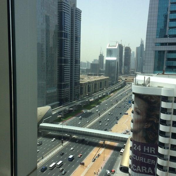 Photo taken at Towers Rotana Hotel by Maha I. on 5/7/2016