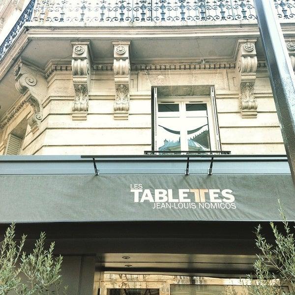 photos at les tablettes de jean louis nomicos french restaurant in paris. Black Bedroom Furniture Sets. Home Design Ideas