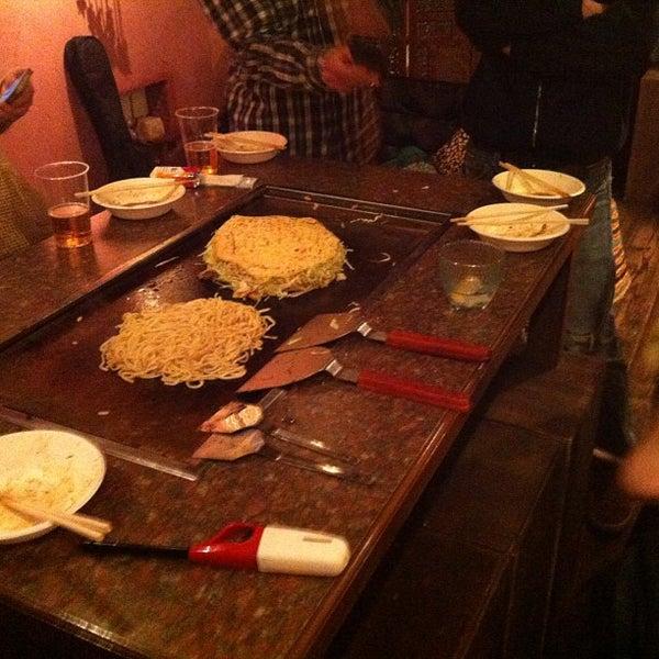 Photo taken at tamutamucafe by Kunio A. on 1/27/2013
