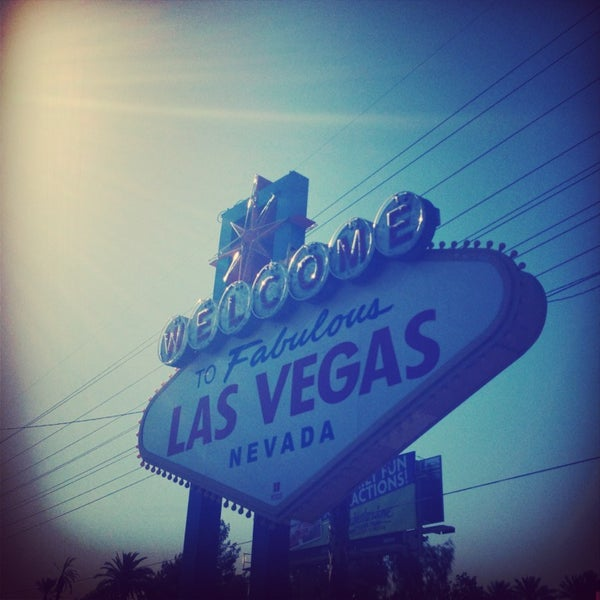 Photo taken at Welcome To Fabulous Las Vegas Sign by Jo D. on 5/16/2013