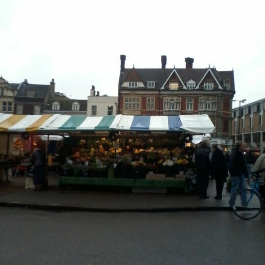 Photo taken at Cambridge Market by Santa V. on 12/1/2012