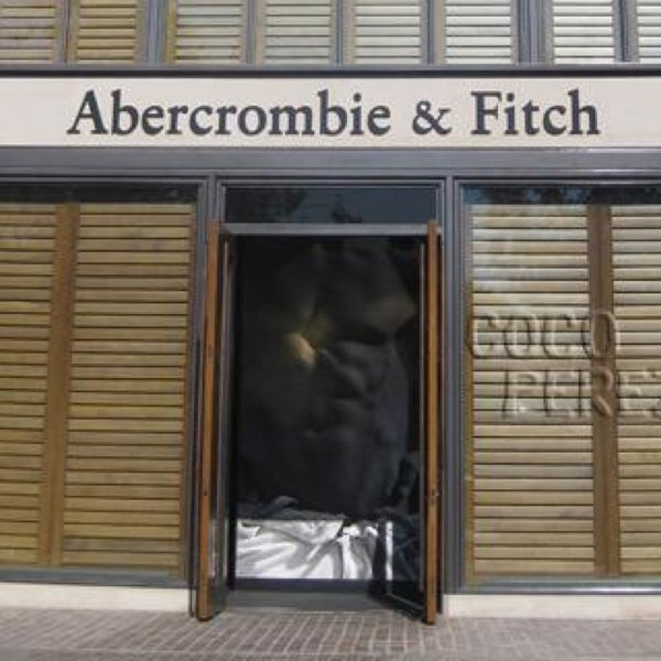 Photo taken at Abercrombie & Fitch by Clive L. on 2/8/2014