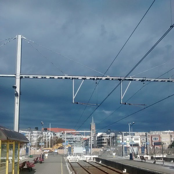 Photo taken at Station Blankenberge by Kevin C. on 10/19/2014