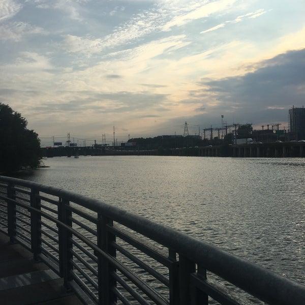 Photo taken at South Street Bridge by Emmanuel C. on 8/25/2016
