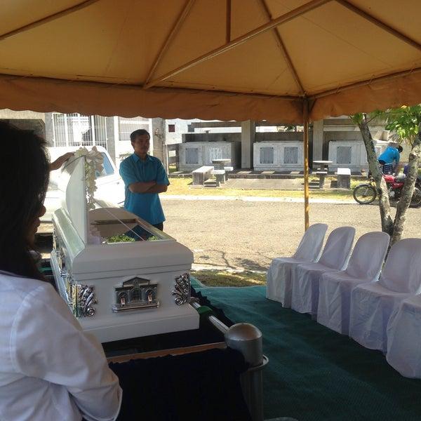 Photo taken at Manila Memorial Park by Robert R. on 4/28/2013
