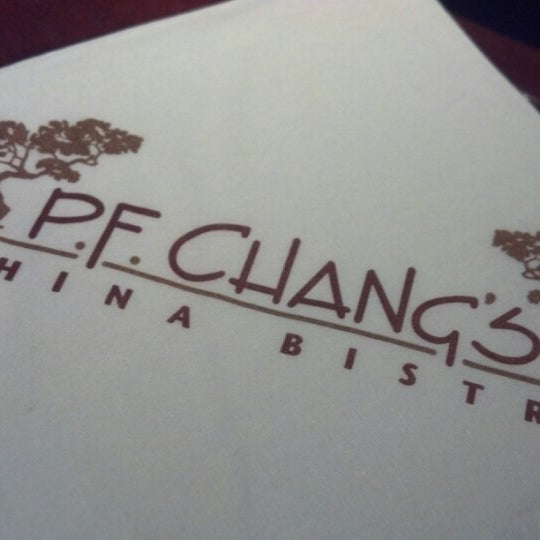 Photo taken at P.F. Chang's by Eddie P. on 8/15/2012