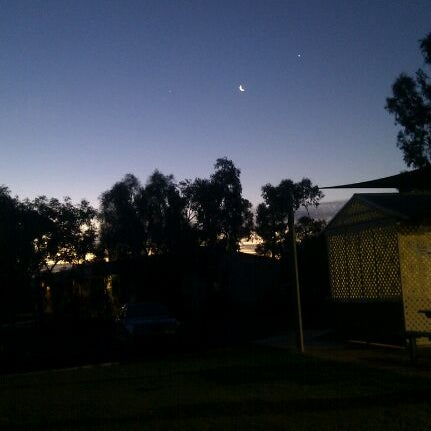 Photo taken at Roxby Village by Adam C. on 3/26/2012