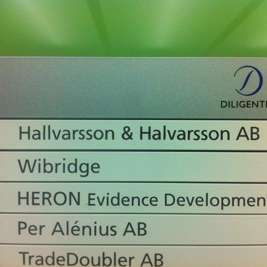 Photo taken at Hallvarsson & Halvarsson by Thomas K. on 8/8/2012