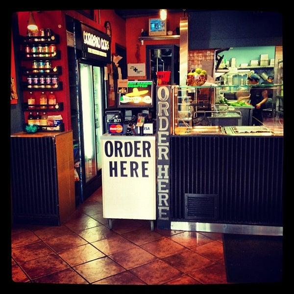 Photo taken at Burrito Boyz by Chris M. on 4/22/2012