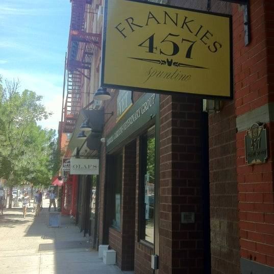 Photo taken at Frankies 457 Spuntino by Jeremy G. on 6/7/2012