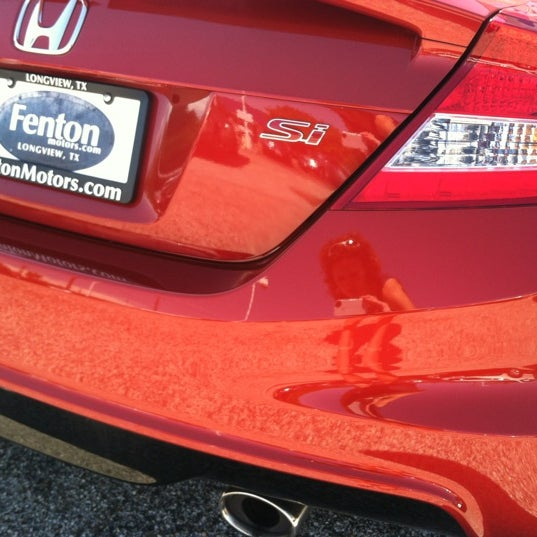 Photo Taken At Tower Honda Of Longview By Cassidy P. On 8/31/