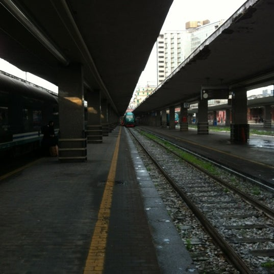Photo taken at Napoli Centrale Railway Station (INP) by Raphael T H. on 4/16/2012