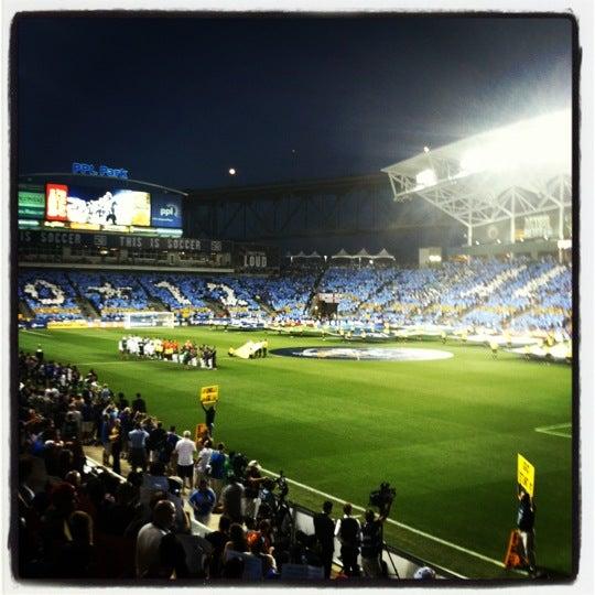 Photo taken at Talen Energy Stadium by Matt H. on 7/26/2012