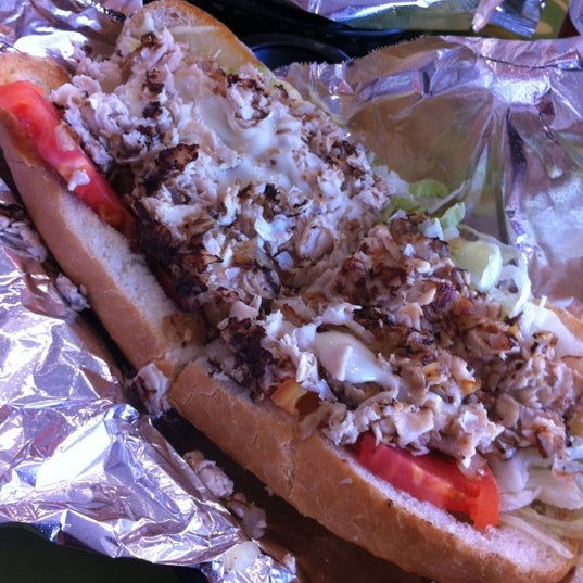 Photo taken at Philly Steak Subs by Linda N. on 3/13/2012