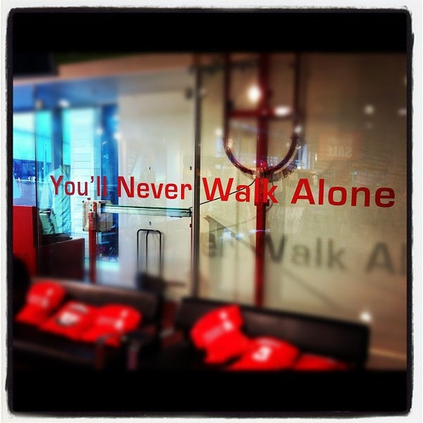 Photo taken at Liverpool FC Official Club Store by Alejandro A. on 2/13/2012