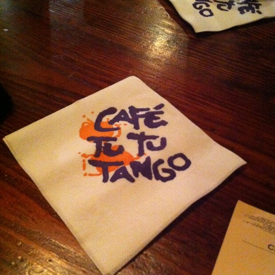 Photo taken at Café Tu Tu Tango by Ashley C. on 5/7/2012