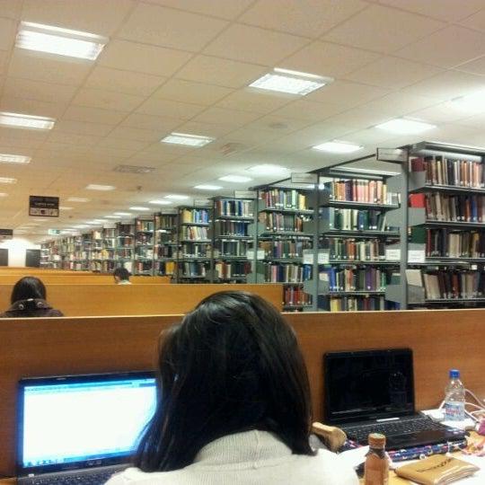 Photo taken at University of Warwick Library by Jaikishen J. on 5/16/2012