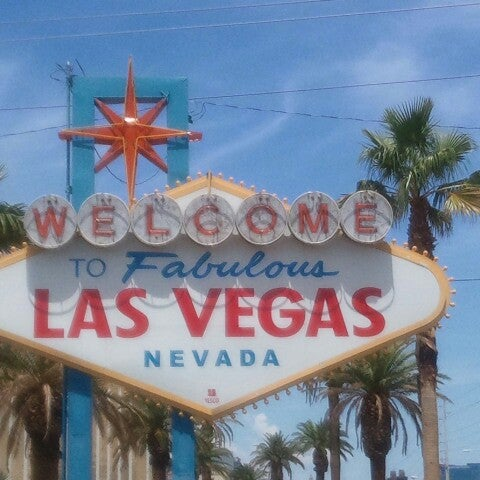 Photo taken at Welcome To Fabulous Las Vegas Sign by Ann E. on 8/3/2012