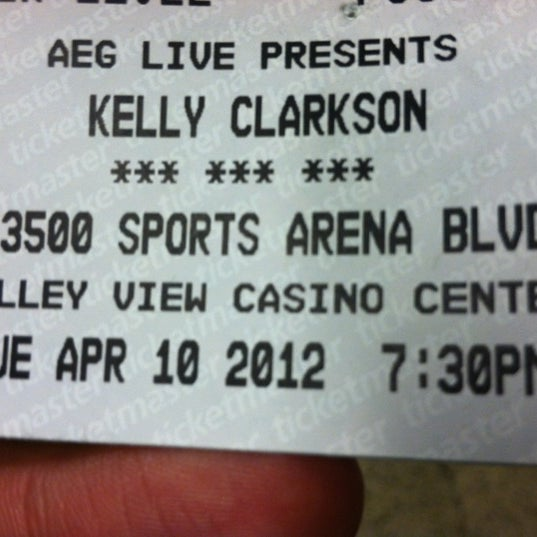 Photo taken at Valley View Casino Center by Randy B. on 4/11/2012