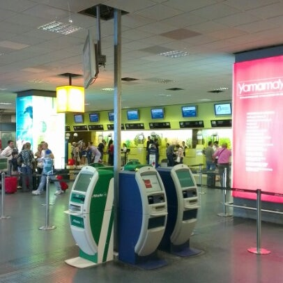 Photo taken at Palermo Airport (PMO) by Vadim S. on 6/20/2012