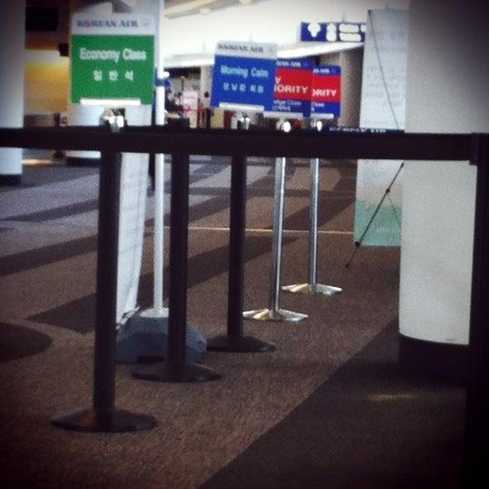 Photo taken at Korean Air Lounge by Baomy W. on 7/1/2012