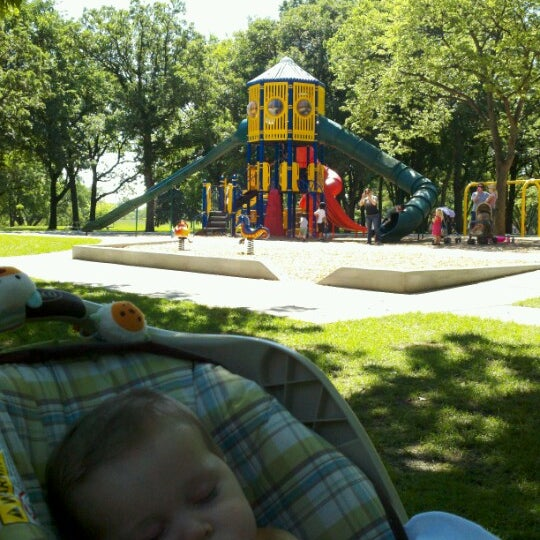 Photo taken at Island Park by Chrisna T. on 6/8/2012