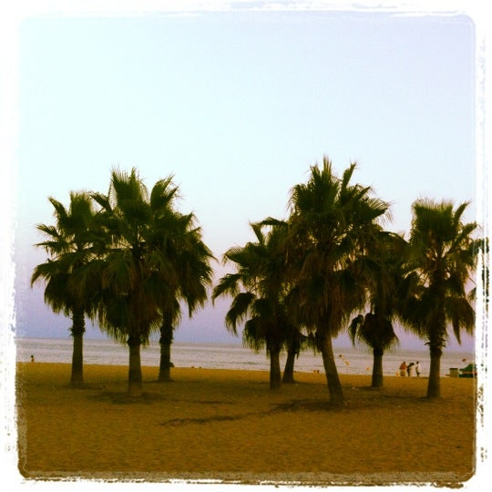 Photo taken at Platja de Calafell by LOKKILUCK L. on 8/10/2012
