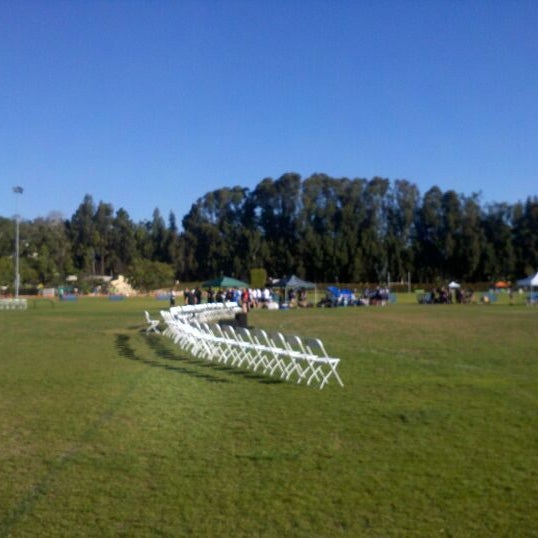 Photo taken at UCLA Intramural Field by Chris E. on 3/10/2012
