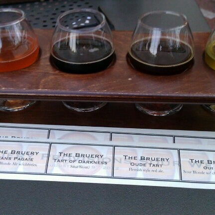 Photo taken at The Bruery Provisions by John M. on 8/18/2012