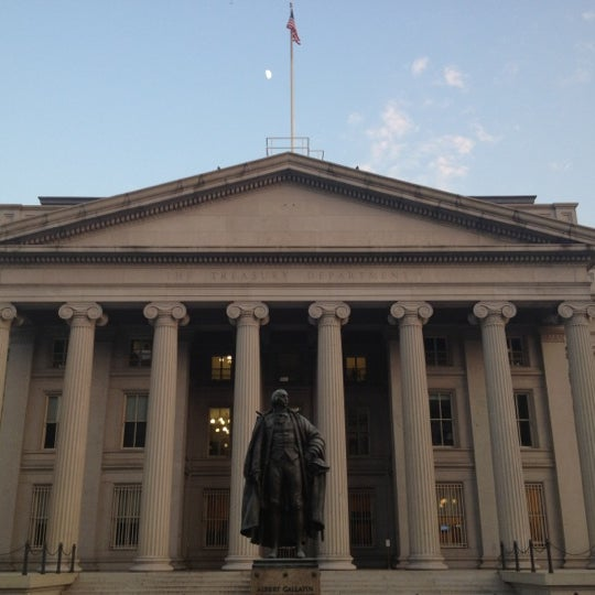 Photo taken at US Department of the Treasury by Jenny N. on 6/29/2012