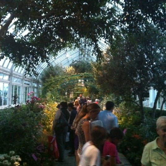 Photo taken at Enid A. Haupt Conservatory by Kate S. on 7/20/2012