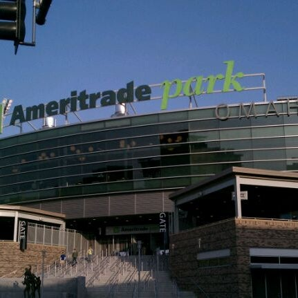 Photo taken at TD Ameritrade Park by Mike V. on 4/3/2012