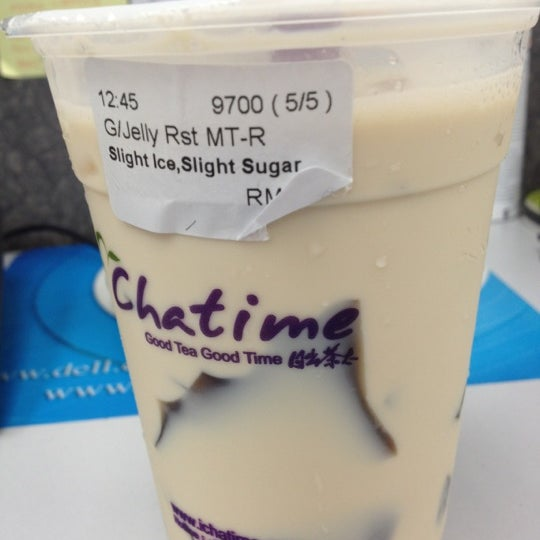 Photo taken at Chatime by Tan H. on 7/19/2012