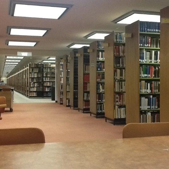 Photo taken at UWM Golda Meir Library by Regina N. on 3/5/2012
