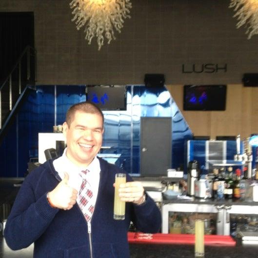 Photo taken at Lush Food Bar by Ben P. on 4/22/2012