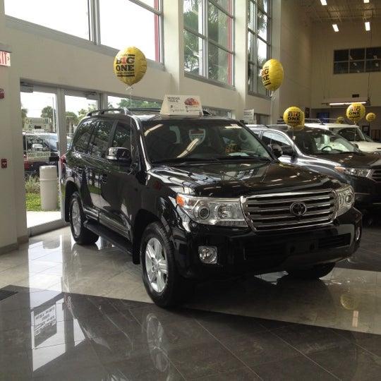 Toyota Dealers Miami: AutoNation Toyota Weston