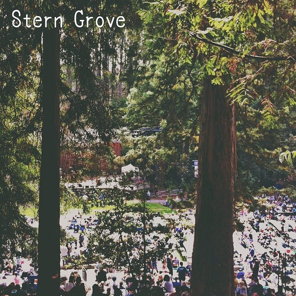 Photo taken at Sigmund Stern Grove by Mike C. on 8/26/2012