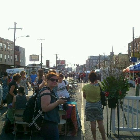 Photo taken at Night Market Washington Avenue by Christopher W. on 6/28/2012