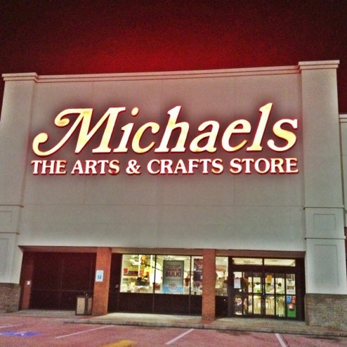 Michaels commons at willowbrook 1 tip from 566 visitors for Michaels craft store houston texas