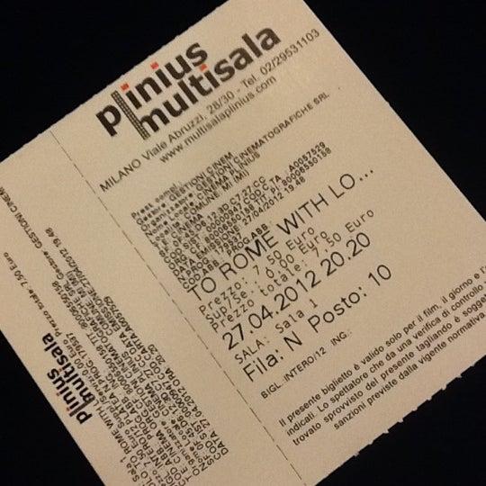 Foto scattata a Cinema Plinius Multisala da Katrin il 4/27/2012