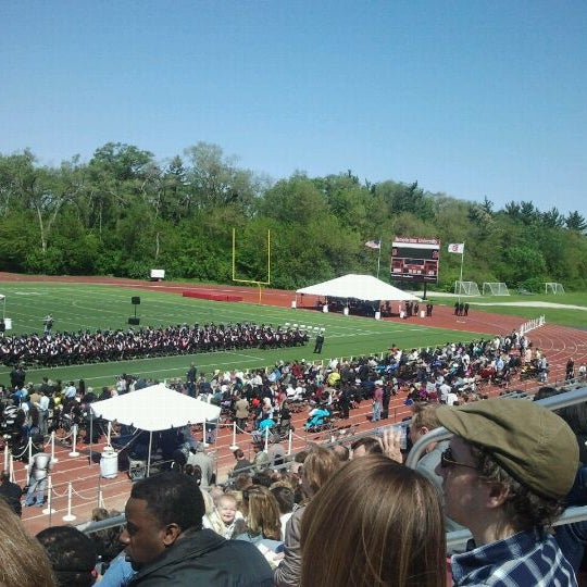 Photo taken at Benedictine University by Fredrich R. on 5/13/2012