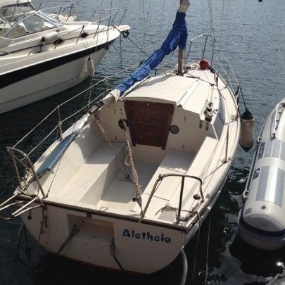 Photo taken at Isola di Nisida - Nisida Island by Manlio L. on 7/28/2012
