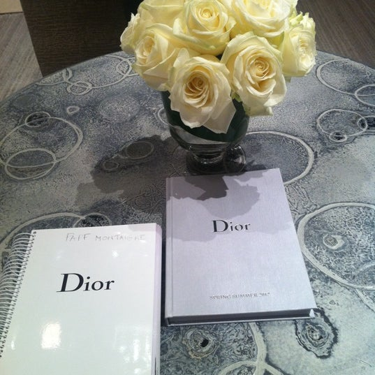 Photo taken at Christian Dior by Maria K. on 4/12/2012