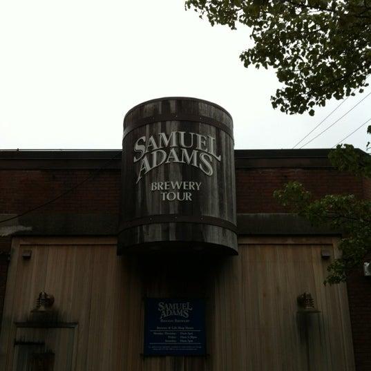 Photo taken at Samuel Adams Brewery by Matt B. on 6/2/2012