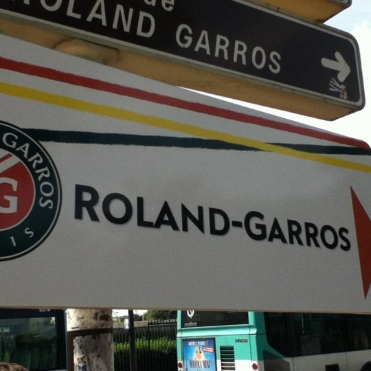Photo taken at Stade Roland Garros by Demetrius C. on 5/30/2012